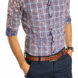 Camasa tip Zara NEW MODEL FASHION - camasa barbati - camasa slim - cod 4577