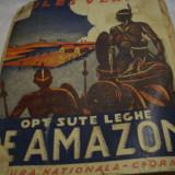 800 leghe pe amazon- j. verne, format mare- ed. veche