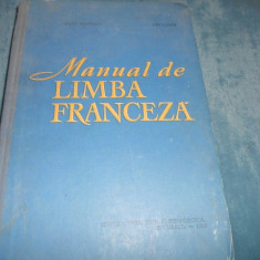 MATEI CRISTESCU, ION CLIMER - MANUAL DE LIMBA FRANCEZA 1965 - Curs Limba Franceza