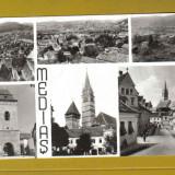 MEDIAS 1971 - Carte Postala Transilvania dupa 1918, Circulata, Fotografie