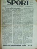 Sport Cluj Kolozsvar 1922 10 iulie  ziar sportiv limba maghiara