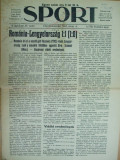 Sport Cluj Kolozsvar 1922 4 septembrie ziar sportiv limba maghiara