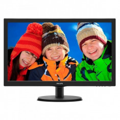 Monitor LED Philips 223V5LHSB/00 21.5 inch 5ms black - Monitor LCD Philips
