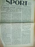 Sport Cluj Kolozsvar 1922 29 mai  ziar sportiv limba maghiara