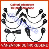 Cabluri camioane compatibil AutoCom si Delphi. Set complet adaptoare la OBD II