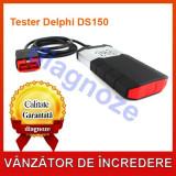 Tester Delphi DS150E + Cabluri turisme si camioane # GARANTIE# - Tester diagnoza auto