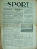 Sport Cluj Kolozsvar 1922 27 februarie  ziar sportiv limba maghiara
