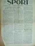 Sport Cluj Kolozsvar 1922 3 aprilir  ziar sportiv limba maghiara