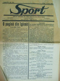 Sport Cluj Kolozsvar 1924 7 iulie  ziar sportiv limba romana si maghiara