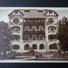 Carte postala - Vedere - Sepia - Ocna Sibiului - Sanatoriul - Carte Postala Banat dupa 1918, Circulata, Fotografie