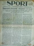 Sport Cluj Kolozsvar 1922 24 mai  ziar sportiv limba maghiara