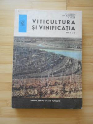 C. ATANASIU--VITICULTURA SI VINIFICATIA foto