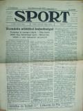 Sport Cluj Kolozsvar 1921 1 august  ziar sportiv limba maghiara