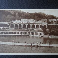 Carte postala - Vedere - Sepia - Ocna Sibiului - Carte Postala Banat dupa 1918, Circulata, Fotografie