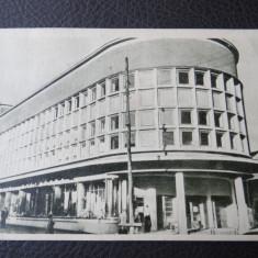 Carte postala - Vedere - Sepia - Resita - Magazinul Universal - Carte Postala Banat dupa 1918, Circulata, Fotografie