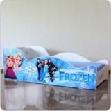 Pat fetite Frozen, Alte dimensiuni, Albastru