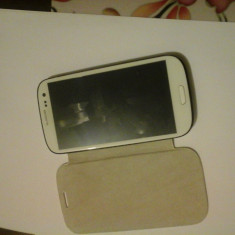 Samsung galaxy S3 - Telefon mobil Samsung Galaxy S3, Alb, 32GB, Neblocat, 1 GB, 2G & 3G