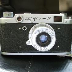 Aparat foto Fed 2 obiectiv colapsibil - Aparat Foto Cu Film Fed