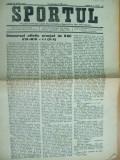 Sport Cluj Kolozsvar 1921 18 iulie ziar sportiv