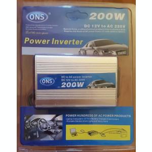 Invertor Auto /Convertor/Alimentator  12V-220V Putere 200 W