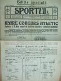 Sport Cluj Kolozsvar editie speciala  1921 15 mai  ziar sportiv