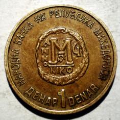 B.177 MACEDONIA 1 DENAR 2000, Europa