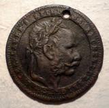 A.067 JETON FRANZ JOSEPH SPIEL UND RECHENPFENNIG 20,5mm