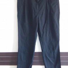 Pantaloni dama H&M, Marime: 36, Culoare: Negru, Lungi, Bumbac