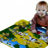 Covoras Muzical Ferma Animalelor 58 x 48 cm - Jocuri Logica si inteligenta