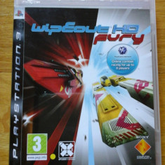 JOC PS3 WIPEOUT HD FURY ORIGINAL / by DARK WADDER - Jocuri PS3 Sony, Curse auto-moto, 3+, Multiplayer