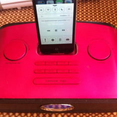 DOCK STATION IPHONE, IPOD, Intrare Auxiliara, Ceas, Radio