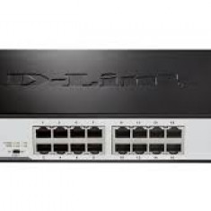 Switch 16 porturi DGS 1016D 10/100/1000 Gigabit D-link