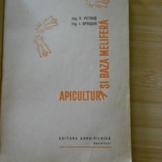 V. PETRUS--APICULTURA SI BAZA MELIFERA - EDITIA I