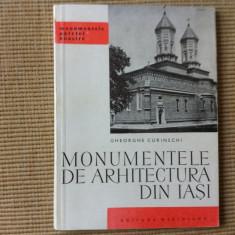 Monumentele de arhitectura din Iasi patriei noastre carte arta 1967 ilustrata