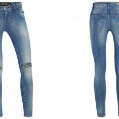 Seven Sisters UK Blugi Femei Skinny Jeans Model NOU 2015 Tur Lasat Marime W24