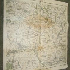 Harta militara Romania 1915: TURDA-TORDA Regimentul 21 infanterie- Bateria 2.