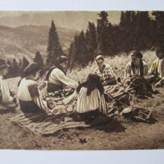 C.P. POPAS IN SPRE CEAHLAU ANII 40 - Carte Postala Moldova dupa 1918, Circulata, Printata, Piatra Neamt