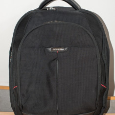 Rucsac business Samsonite PRO-DLX 3 - Geanta laptop Samsonite, 16 inch, Nailon, Negru