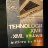 Tehnologii xml-xml in Java - Initiere in xml - Editura Albastra - Carte software