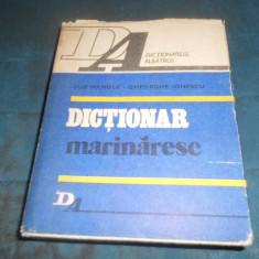 ILIE MANOLE * GHEORGHE IONESCU - DICTIONAR MARINARESC