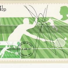 1861 - Anglia 1977 - carte maxima