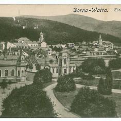 1284 - Suceava, VATRA DORNEI, vedere generala - old PC, CENSOR - used - 1918 - Carte Postala Bucovina 1904-1918, Circulata, Printata