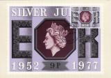 1862 - Anglia 1977 - carte maxima