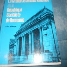 LA GRANDE ASSEMBLEE NATIONALE de la REPUBLIQUE SOCIALISTE de ROUMANIE [