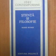 n7 Stiinta si filosofie - Mario Bunge