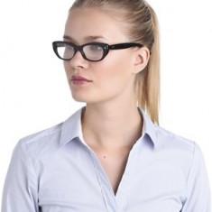 Rama- rame ochelari Emporio Armani, 100% originala - Rama ochelari Emporio Armani, Femei, Negru