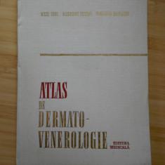 AUREL CONU--ATLAS DE DERMATO-VENEROLOGIE - Carte Dermatologie si venerologie