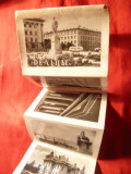 Carnet-Pliant-Fotografii din Balti -Moldova 1968 ,7,5x5 cm
