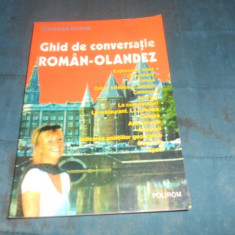 DANIELA IRIMIA - GHID DE CONVERSATIE ROMAN OLANDEZ - Curs Limba Olandeza