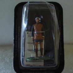 2566.Soldat din plumb - MEDIEVAL WARRIOR - Luptator franc scara 1:32